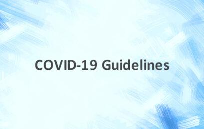 COVID-19: Guidelines / Circulars