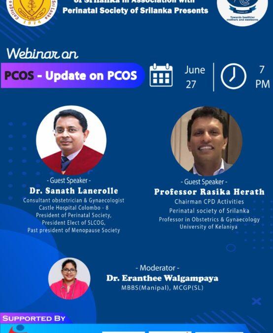 Webinar on PCOS – Update on PCOS