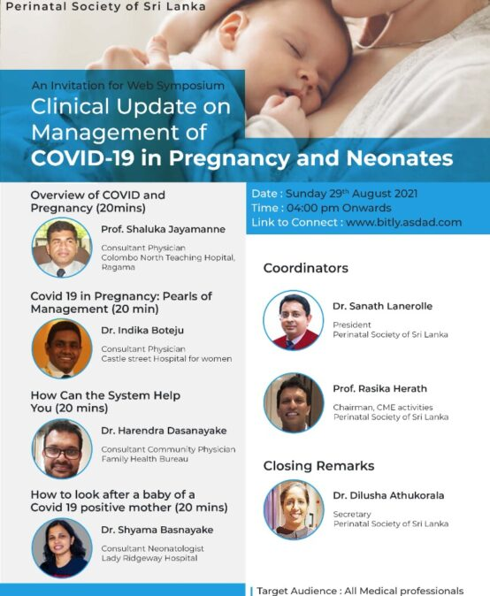 Webinar : Clinical Update on Management of COVID-19 in Pregnancy and Neonates Copy
